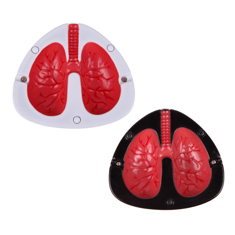 Quit Smoking Cigar Ashtrays Coughing and Screaming Lung Shape Stop Cigarett Ash Trays Free Shipping(China (Mainland))