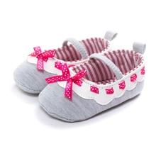 2PCS/lot Baby Girls Bowknot Princess Shoe Anti-Slip SLL T0512(China (Mainland))