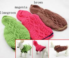 Ручной домашних собак кошка теплое с мягким свитера собаки кошки одежда толстовки щенок костюм животного собачьи товары одежда домашних животных поставляет 1 шт.