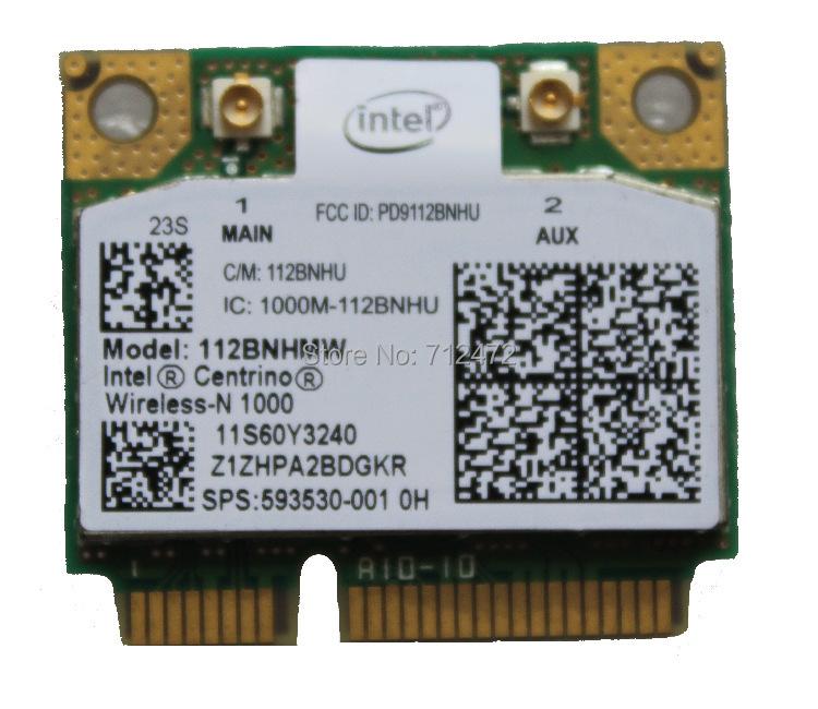 New Original Wireless card For HP for Intel Centrino Wireless-N 1000 112BNHMW 300Mbps 802.11b/g/n Mini PCI-E SPS: 593530-001(China (Mainland))