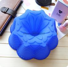 silicone cake molds DIY cake mold flower bread moulds novelty pastry molds SCM-003-2(China (Mainland))