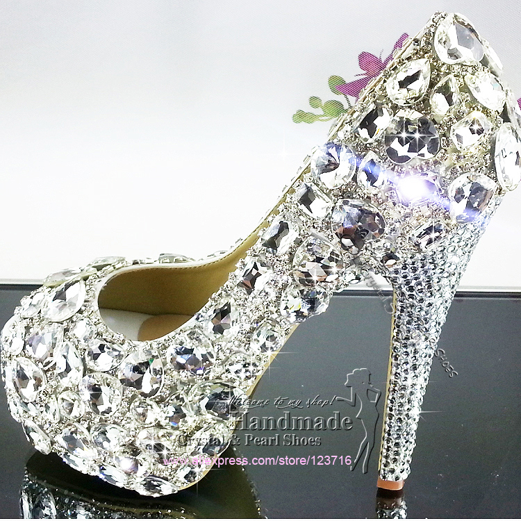 wedding shoe wedge heel Picture - More Detailed Picture about ...