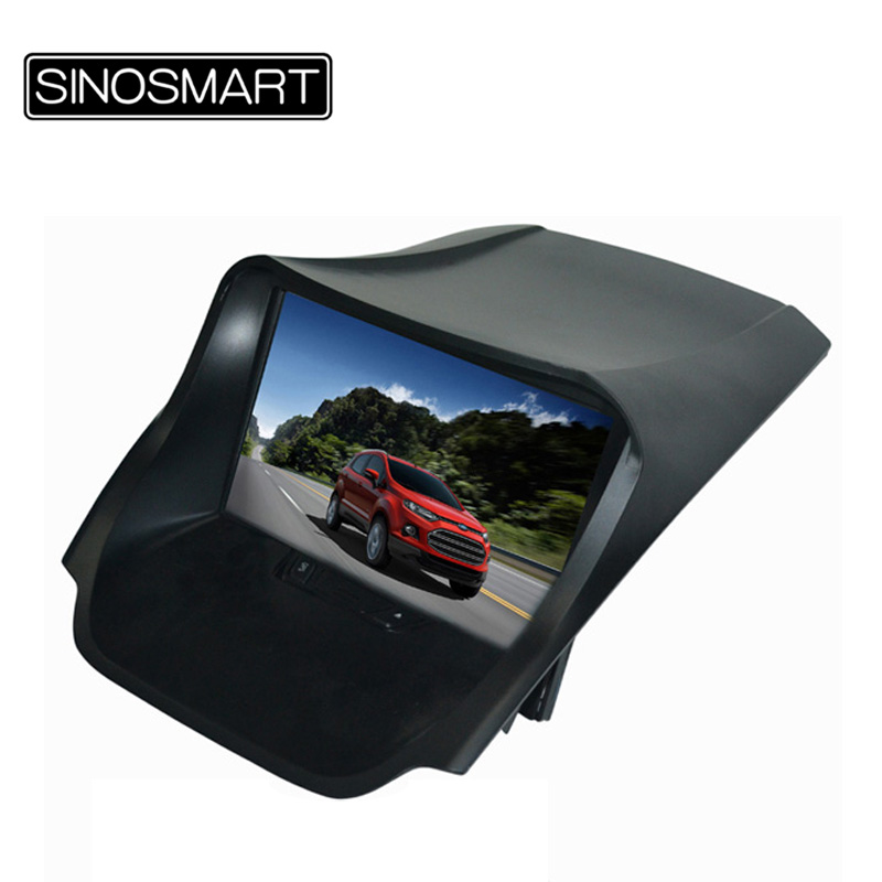 Free shipping Win CE 6.0 800MHz CPU 256M RAM 8 inch Car GPS navigation for Ford Ecosport super fast speed(Hong Kong)