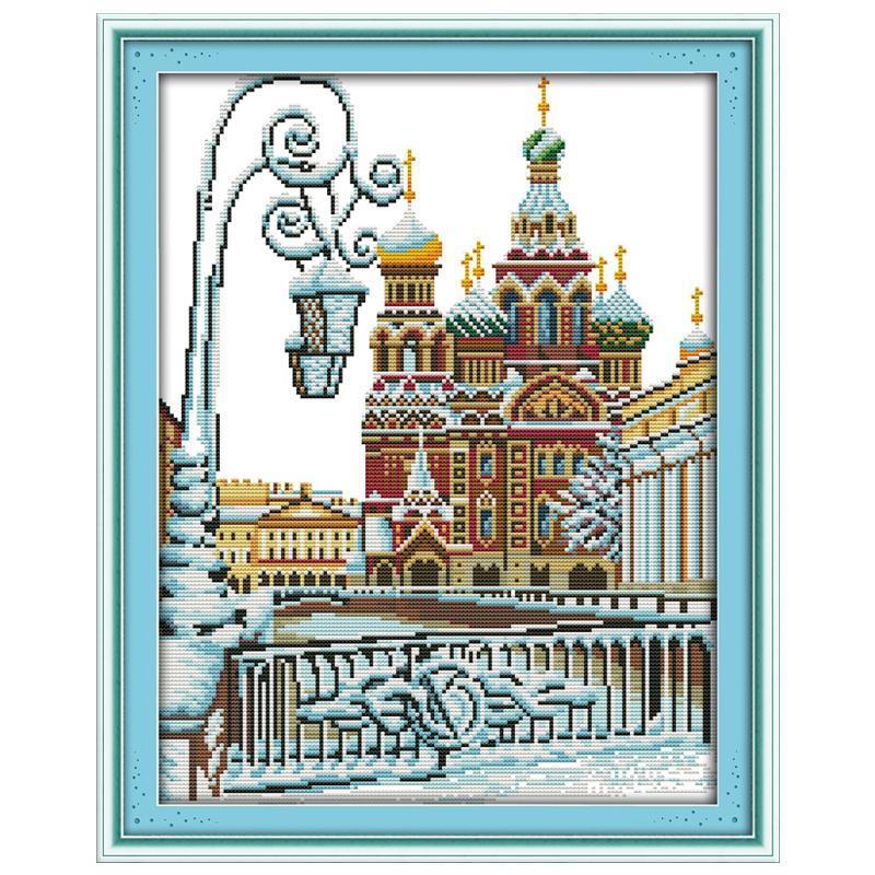 Aliexpress buy needlework diy dmc ct printed cross