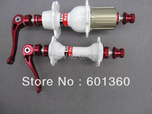 White Novatec Hubs Road A271SB F372SB Quick Release Lighter Hubs(China (Mainland))