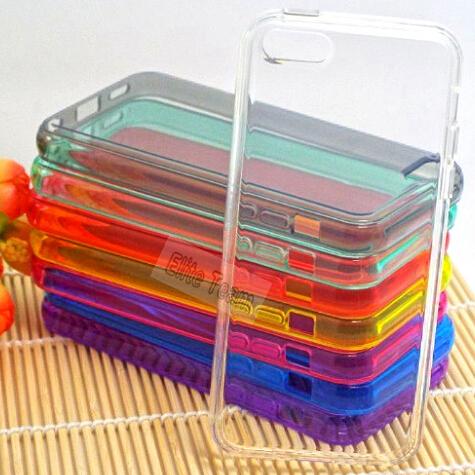Etui iPhone 5C Transparent różne kolory