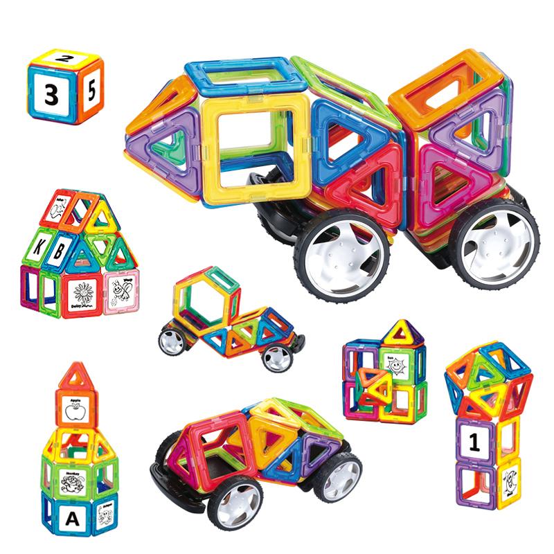 Plastic Model Kits Similar Magformers Magnetic Blocks Toys 4 Block Building Learning Education Magnet Bricks