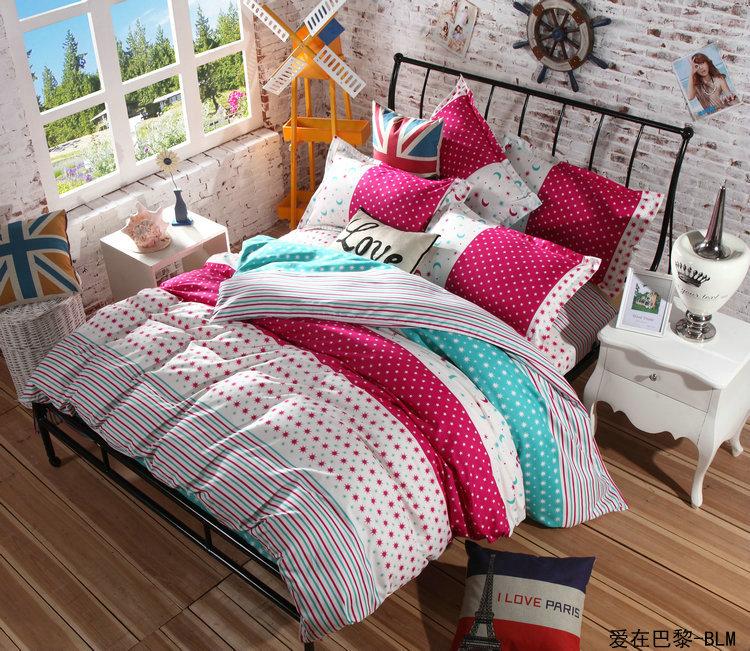 hot sale bedding set twin full queen king size 4 pcs comforter bedspread set top quality in. Black Bedroom Furniture Sets. Home Design Ideas