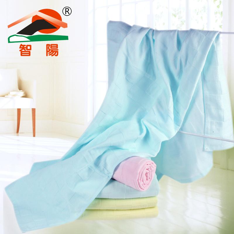 Newborn 100% cotton gauze and soft sttend plain towel wool(China (Mainland))