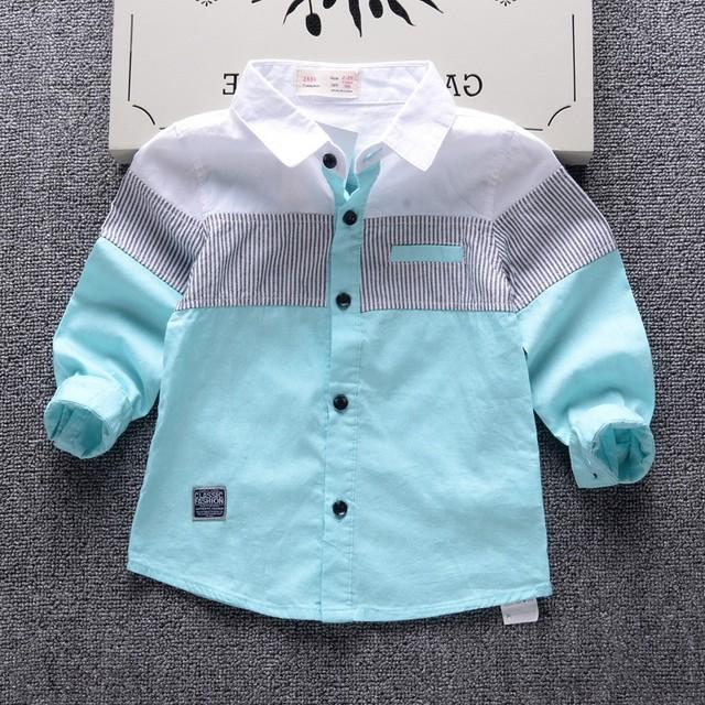 2-13-year-old мальчик бренд детской clothing 2016 осень мода классический клетчатую рубашку большие мальчики 100% хлопок высокого качества топы