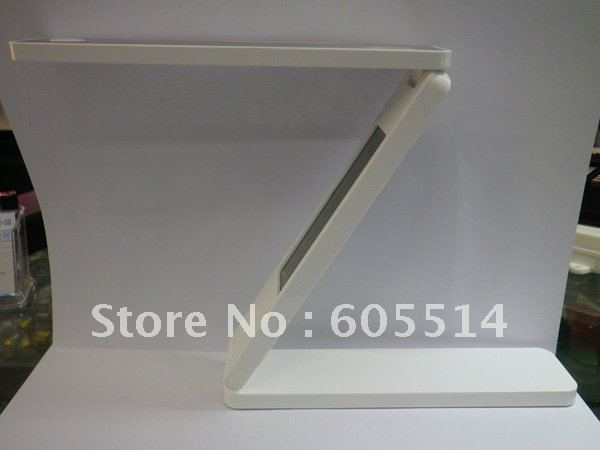 [Seven Neon]Free DHL express shipping folding LED book lamp with calendar,led book desk lamp