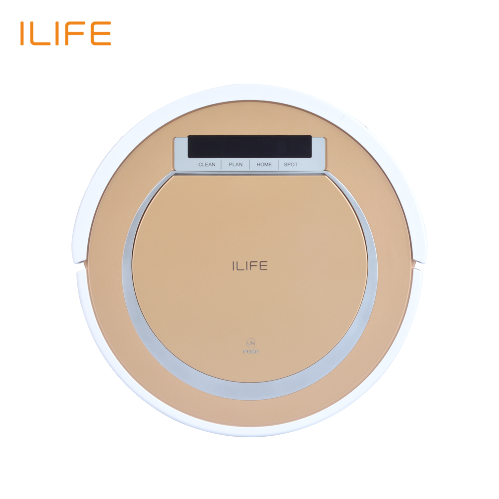 2016 Original ILIFE X5 Robot Vacuum Cleaner Robot Automatic Sweeping Intelligent Cleaning Microfiber Dust Cleaner Virtual Wall(China (Mainland))