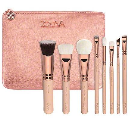 ZOEVA 8pcs ROSE GOLDEN LUXURY SET VOL. 2 Makeup Brush<br><br>Aliexpress