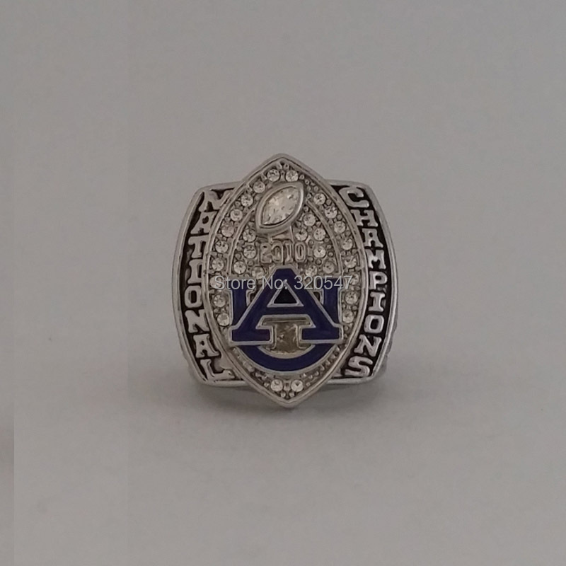2010 Auburn University Tigers NCAA Football National Championship ring For the Chizik size 11 as a Gift(China (Mainland))