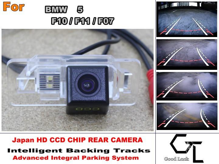Здесь можно купить  For BMW 5 F10 / F11 / F07 Parking Assistance Tracks Module Rear View Camera  Back Up Parking Camera  HD CCD Night Vision  Автомобили и Мотоциклы