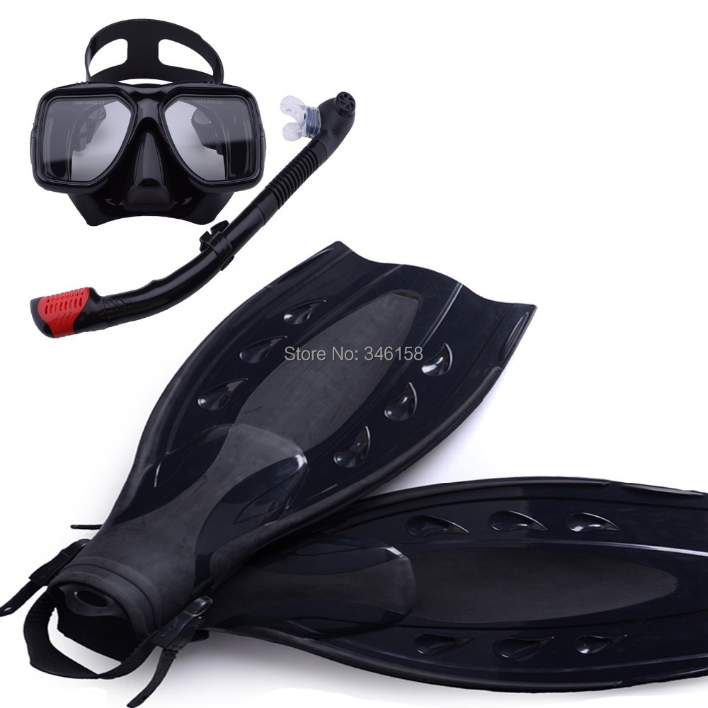 Scuba diving equipment dive mask and snorkel flipper kit - Discount dive gear ...