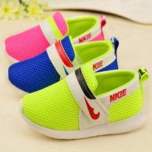 2016 New Arrival Boys & Girls Solid Sneakers High Quality Breathable Baby Sports Shoes Hook Spring Fashion First Walkers,RJ432(China (Mainland))