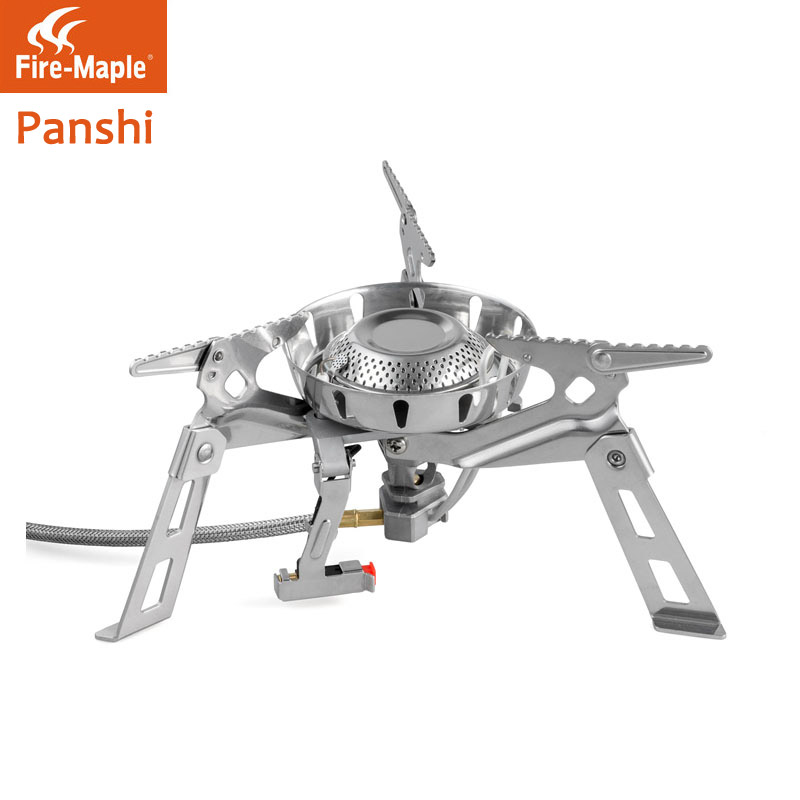 Fire maple rock fission wind furnace head cold stove outdoor picnic stoves electronic lighter preheating tube cooker(China (Mainland))