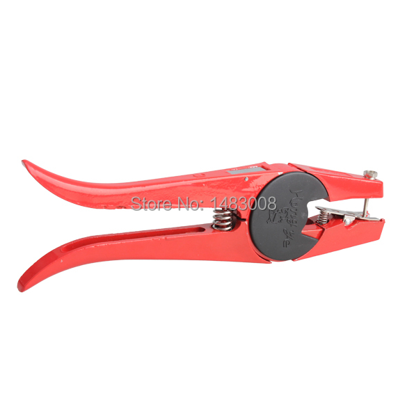 Cattle Livestock Metal Goat Ear Tag Animal Tool Plier Forcep Applicator High Quality(China (Mainland))