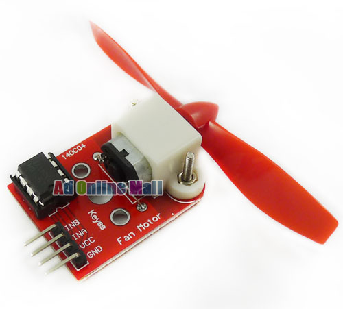 L9110 Fan Module For Arduino Firefighting Robot Design and Development Motion(China (Mainland))