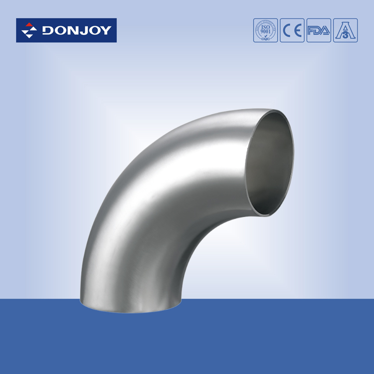2 inch Stainless steel304, 3A short type welded elbow 90degree