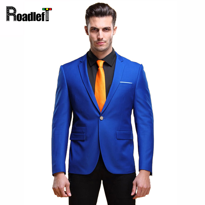 Popular Royal Blue Fitted Mens Blazer-Buy Cheap Royal Blue Fitted ...
