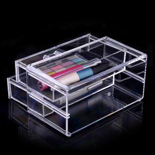 Femmes acrylique maquillage organisateur de rangement - Boite acrylique transparente ...