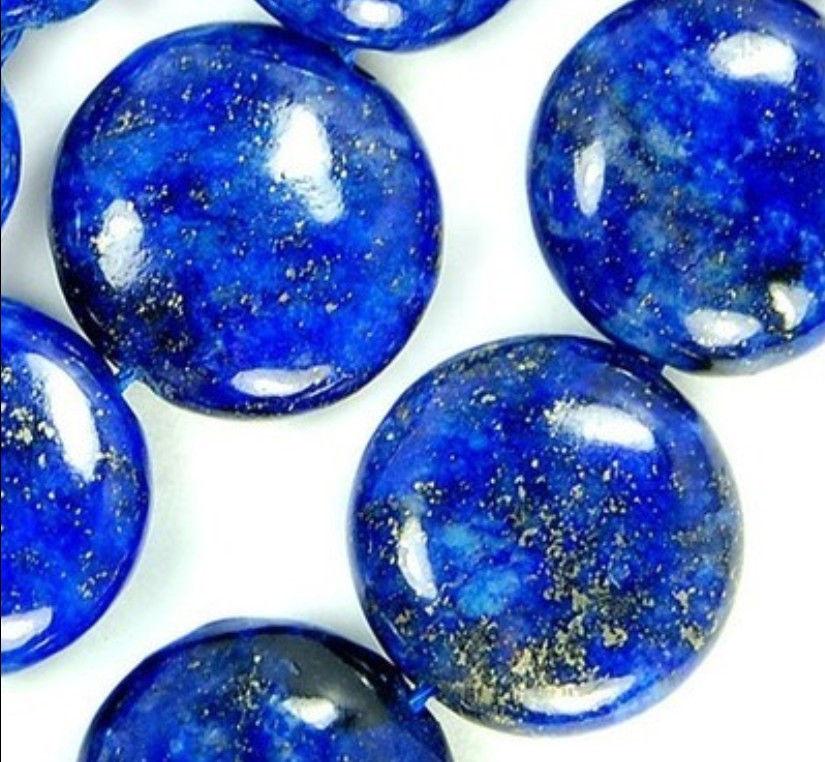AAA Beautiful 12mm Natural Indigo Lapis Lazuli Coin Loose Beads Fashion Jewelry Semi-Precious Natural Stone Women Gift 15inch(China (Mainland))