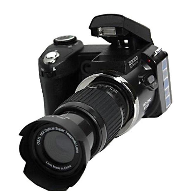 D3000 16MP HD Half- DSLR Camera half Professional Digital Cameras 16x Telephoto & Wide Angle Lens(China (Mainland))