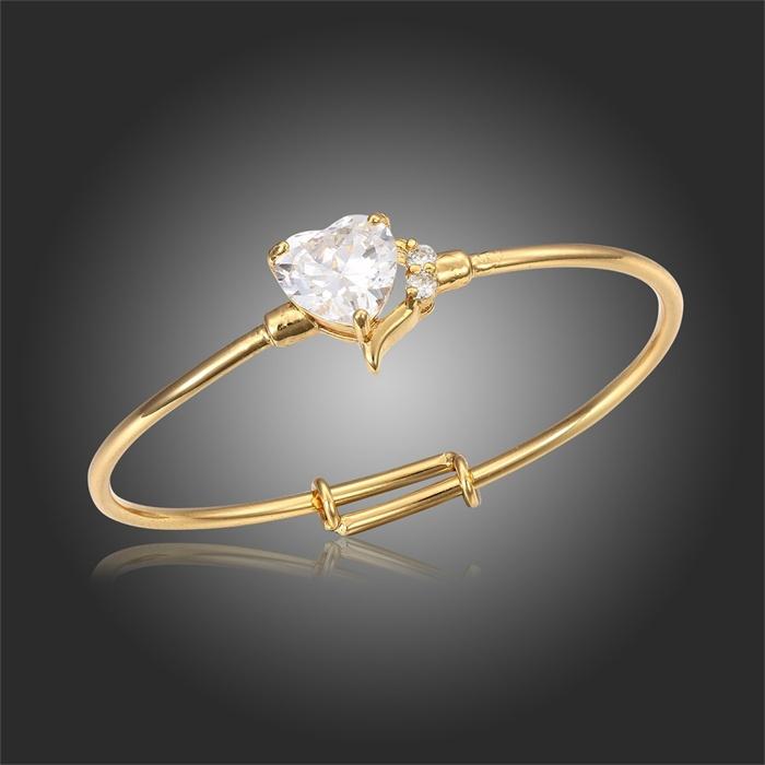 gold baby bracelets