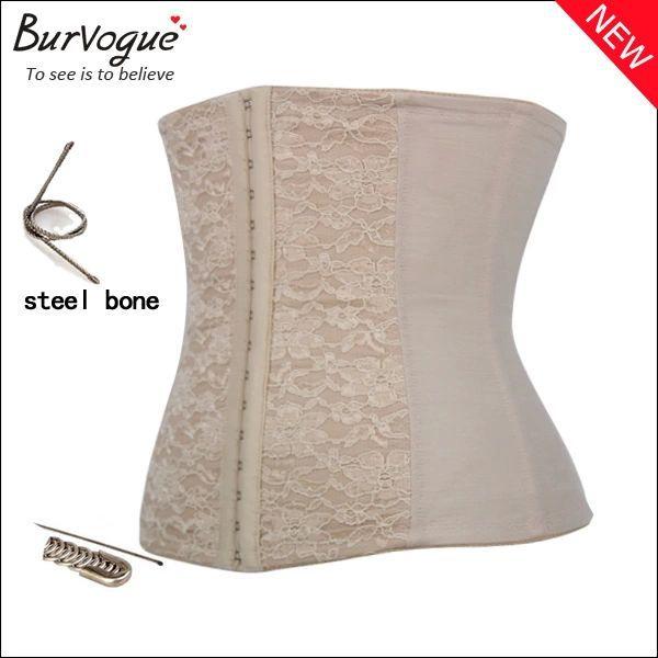 Free shipping / Lace / steel Body shapers / Europe abdomen palace corset / body / thin clothing 012(China (Mainland))