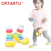 2015 New Attipas Same Design Shoes Baby Girl Boy Shoes Newborn Baby Moccasins Shoes  Enfant Shoes Socks Rubber Sole Kids Boots(China (Mainland))