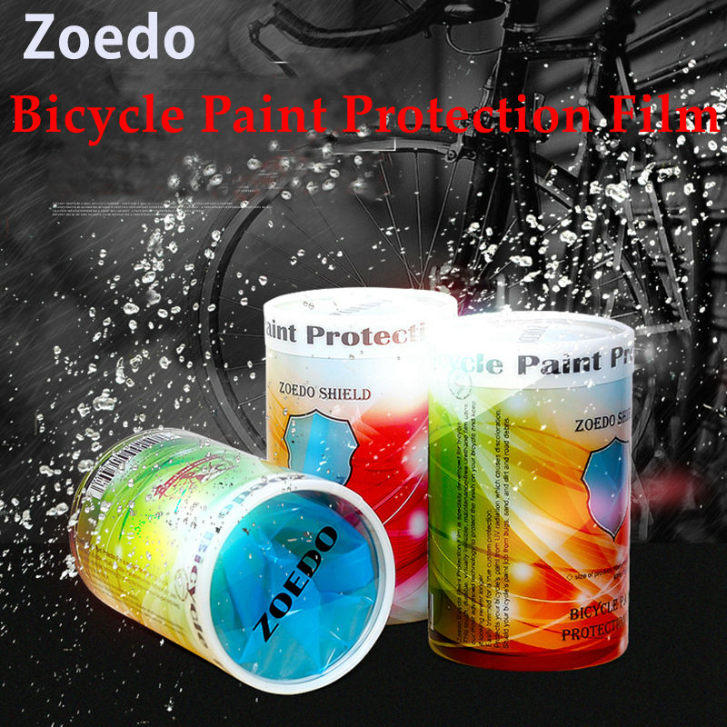 Zoedo MTB road bike frame reflective stickers bicycle cycling paint protection film shield universal Smooth surface protection(China (Mainland))