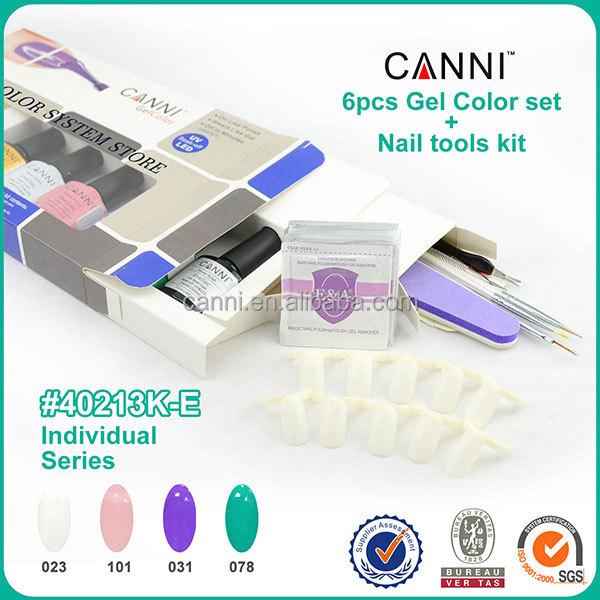 free shipping nail art paint uv gel polish kit#40213J(China (Mainland))
