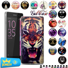Hot Newest TPU Soft Gel Cell Phone Case Sony xperia E5 phone Protection case ,UV printed Back cover - Giant WorthWhile store