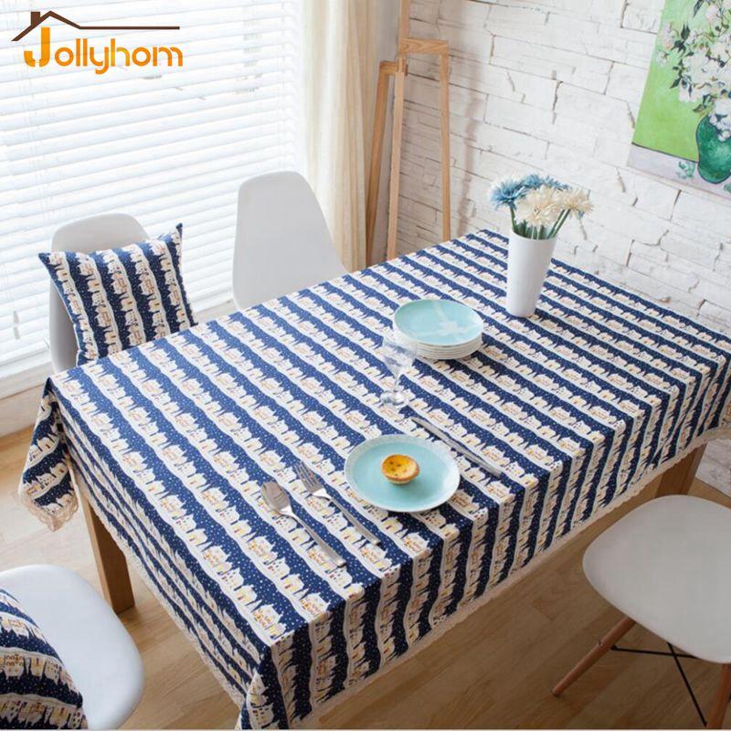 Korean Innovative Design Tablecloth 100% Linen Home Textile Fabric Table Cover Rectangular Coffe Table Cloth(China (Mainland))
