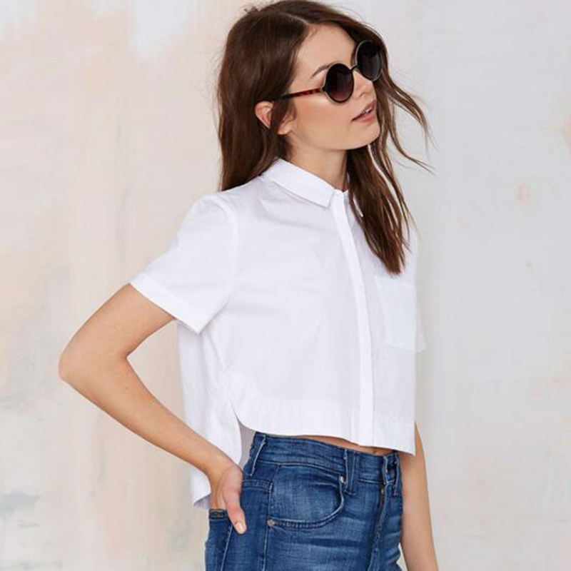 White Shirt Top | Is Shirt