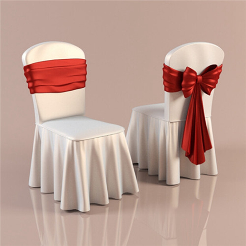 chair covers for wedding party home decoration white dining chair