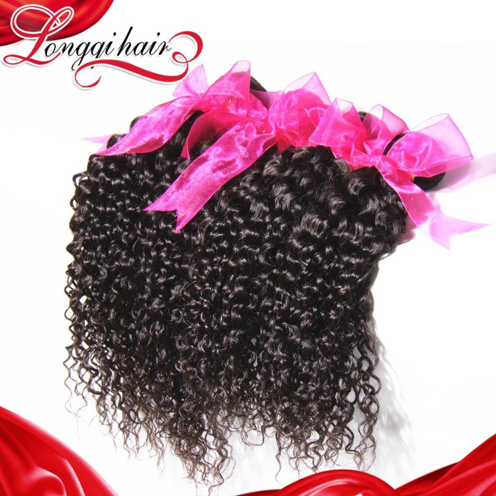 6A Grade 3pcs Lot Brazilian Curly Virgin Hair Bundles, Brazilian Virgin Hair Human Hair Weave Brazilian Kinky Curly Virgin Hair(China (Mainland))
