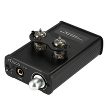 Original XDUOO TA-02  6J1x 2 Stereo Tube Professional HiFi Headphone Amplifier Flac Dual Tube AMP+Class A BUF(China (Mainland))