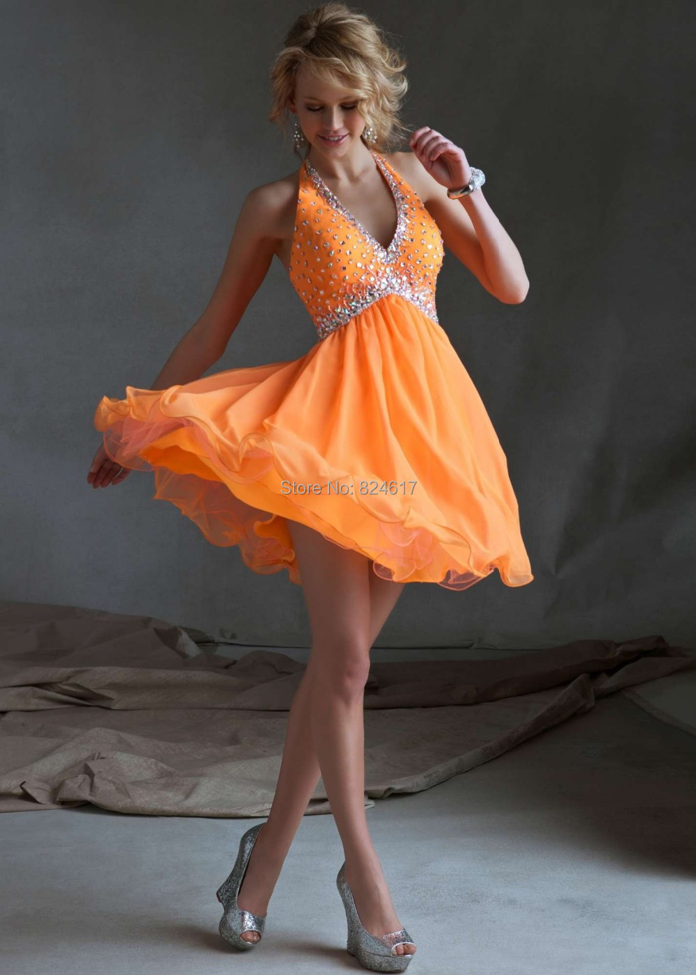 Neon Homecoming Dresses
