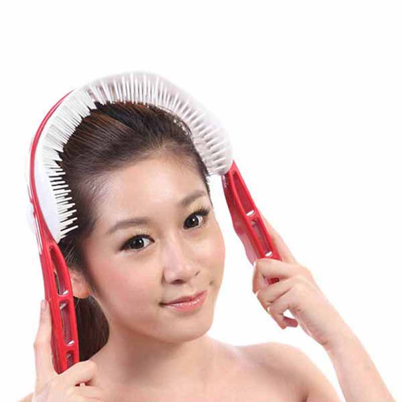 hand head massager spider relaxed handle brain head neck acupoint stimulation massager Health care beauty massage(China (Mainland))