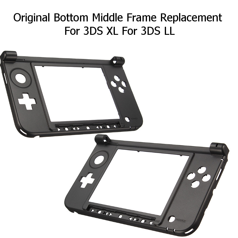 Housing Shell Cover Case Original Bottom Middle Frame Replacement Kits Console Cover Nintendo 3DS XL/LL Game Console