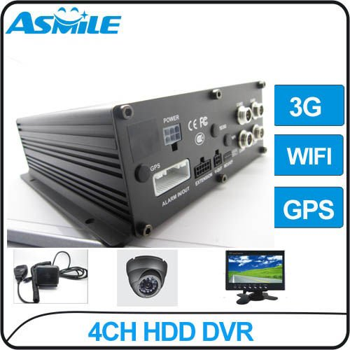 vehicle security camera system 4ch leader company taxi video camera security bus HDD dvr 4ch<br><br>Aliexpress