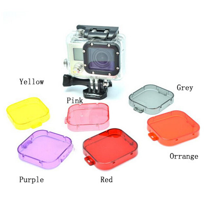 1pcs Filter Lens For SJ4000 Action Camera Accessories Diving Protective UV Circle Mirror Cover(China (Mainland))