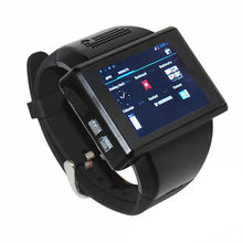 Free shipping!Android 4.1 Dual Core 2″ Touch Bluetooth Smart Watch GSM Phone 2.0MP WiFi GPS FM