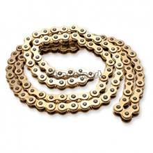 Stylish 520 Gold Non-Oring Chain 114 Link for motorcycle 18(China (Mainland))