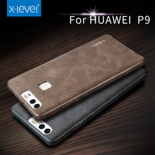 2016 X-Level PU leather For Phone Case Huawei P9 plus,Back Cover For Huawei P9 case(China (Mainland))