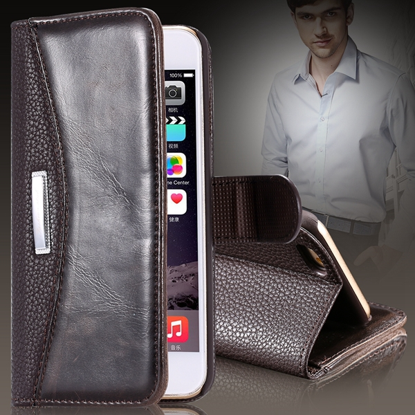 5S Flip Case Bussiness Full Wallet Bag For Iphone SE 5 5s 5g PU Leather Cell Phone Cover Protective Skin Shell Mobile Phone Case(China (Mainland))