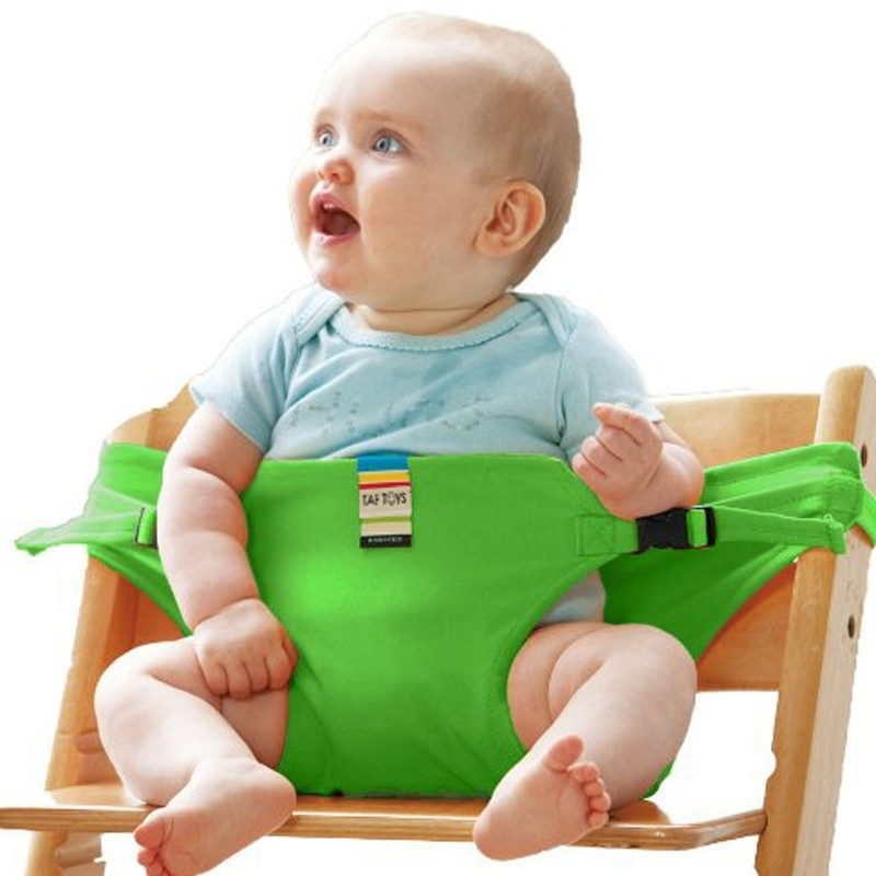 Baby Care Infant Chair Portable Seat Dining Lunch Chair Seat Safety Belt  Stretch Wrap Feeding Chair Harness Baby Booster Seat